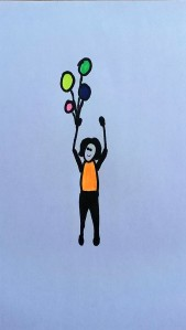 Yoga Kid balloons